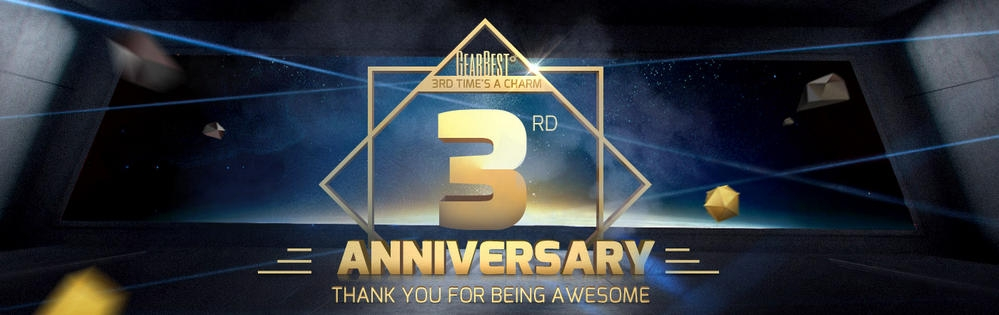 Don't miss 3rd Anniversary sale