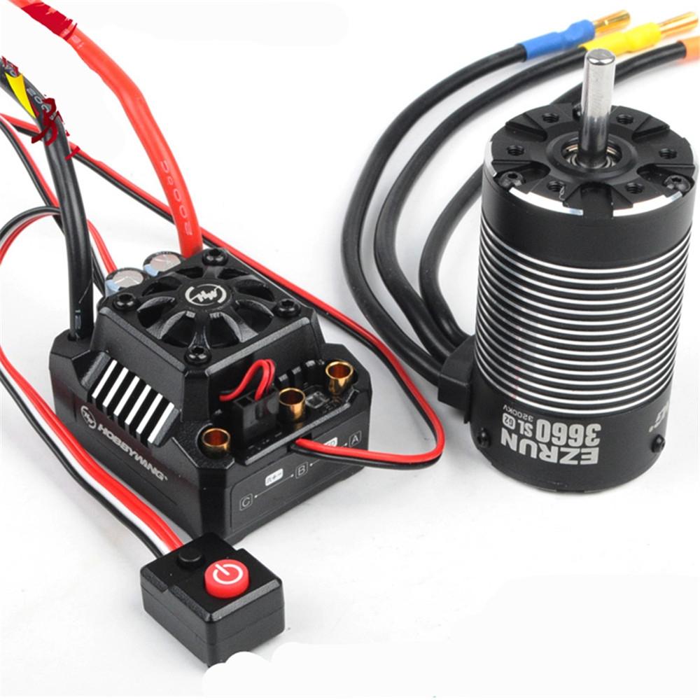 Hobbywing Ezrun Max10 Sct 120a Waterproof Brushless Esc 3660 Sl G2 Wiring Motor For 1