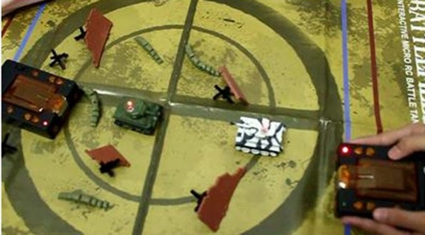 Airsoft Infra-Red Control Interactive Micro Battle Tank Game